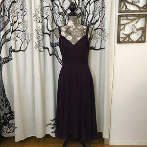 Anthropologie Elevenses Crepe Midi Dress
